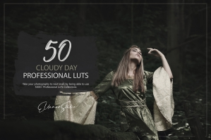 50 Cloudy Day Presets and LUTs Pack
