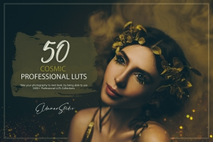 50 Cosmic Presets and LUTs Pack
