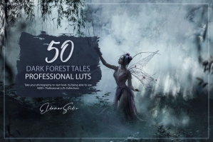 50 Dark Forest Tales Presets and LUTs Pack
