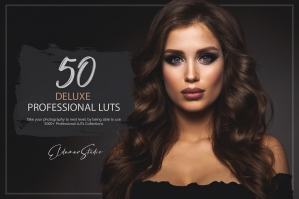 50 Deluxe Presets and LUTs Pack
