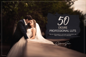 50 Desire Presets and LUTs Pack