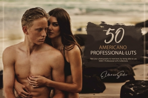 50 Americano Presets and LUTs Pack