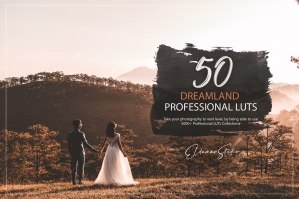 50 Dreamland Presets and LUTs Pack