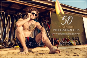 50 Adventure Presets and LUTs Pack