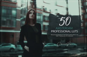 50 Amsterdam Presets and LUTs Pack