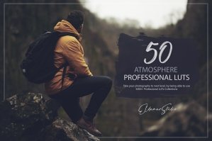 50 Atmosphere Presets and LUTs Pack