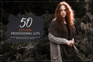 50 Autumn Forest Presets and LUTs Pack