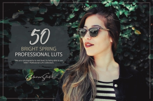50 Bright Spring Presets and LUTs Pack