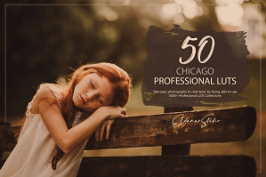 50 Chicago Presets and LUTs Pack