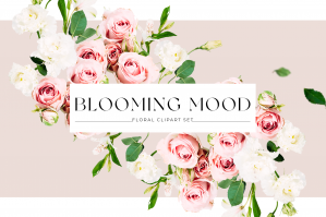 Blooming Mood - Floral Clipart