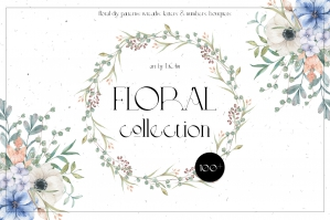 Watercolor Florals Collection