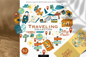 Traveling Graphic Collection