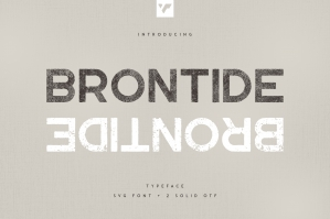 Brontide Typeface