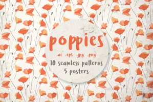 Poppies, Patterns and Posters