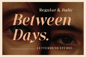 Between Days - Sophisticated Serif