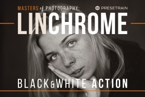 Linchrome Black & White Action and LUT