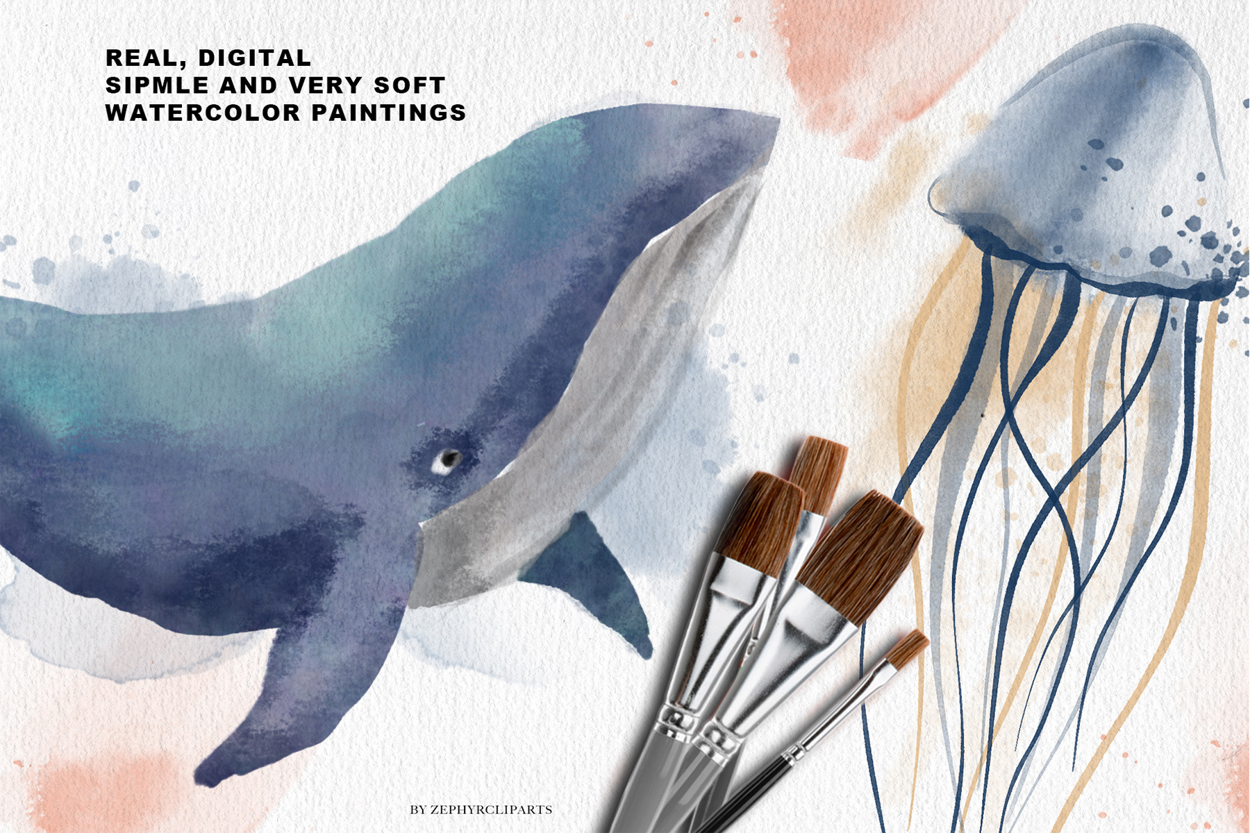 New Watercolor Brushes for Procreate