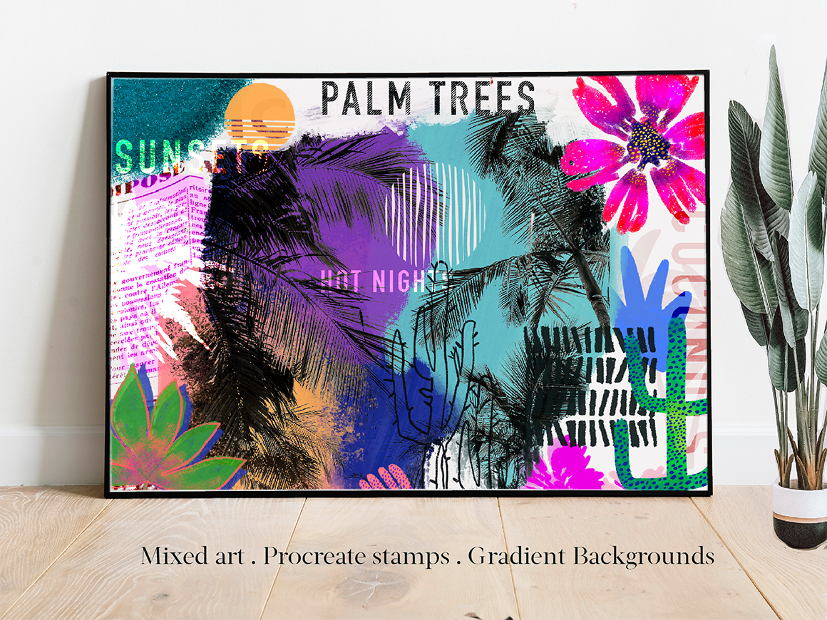 Palm Springs - An Abstract Collection