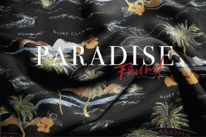 Tropical Paradise Found Pattern