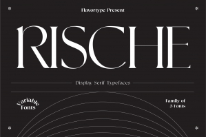 Rische Display Serif Variable
