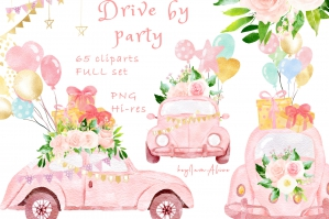 Drive By Party Pink