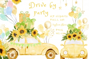 Drive By Party Sunflower