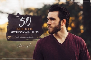50 Fresh Look Presets and LUTs Pack