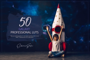 50 Galaxy Presets and LUTs Pack