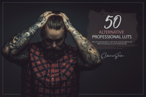 50 Alternative Presets and LUTs Pack