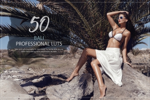 50 Bali Presets and LUTs Pack