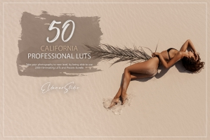 50 California Presets and LUTs Pack