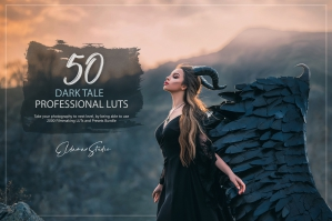 50 Dark Tale Presets and LUTs Pack
