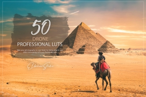 50 Drone Presets and LUTs Pack