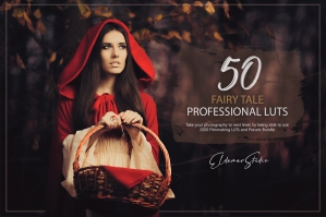 50 Fairy Tale Presets and LUTs Pack