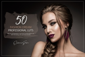 50 Fashion Dream Presets and LUTs Pack