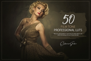 50 Film Tone Presets and LUTs Pack