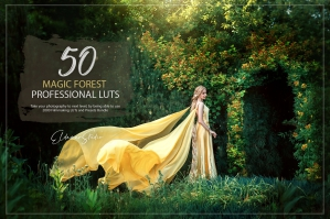 50 Magic Forest Presets and LUTs Pack