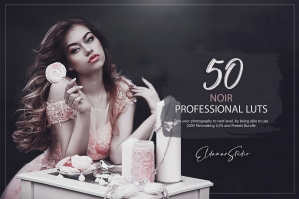 50 Noir Presets and LUTs Pack