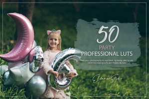 50 Party Presets and LUTs Pack
