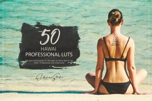 50 Hawaii Presets and LUTs Pack