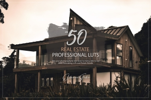 50 Real Estate Presets and LUTs Pack