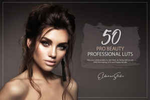 50 Pro Beauty Presets and LUTs Pack