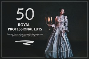 50 Royal Presets and LUTs Pack