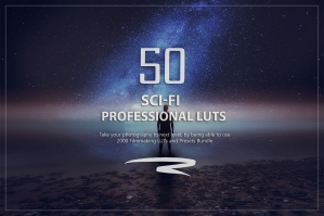 50 Sci-Fi Presets and LUTs Pack