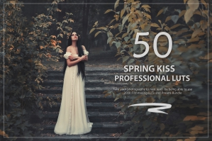 50 Spring Kiss Presets and LUTs Pack