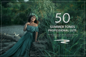 50 Summer Tones Presets and LUTs Pack