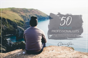 50 Traveler Presets and LUTs Pack