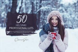 50 Helsinki Presets and LUTs Pack