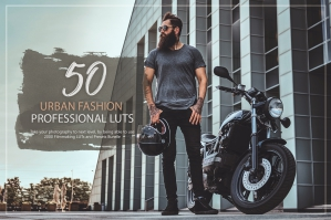 50 Urban Fashion Presets and LUTs Pack