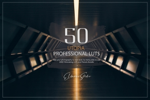 50 Utopia Presets and LUTs Pack